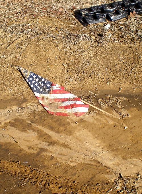 flag dump