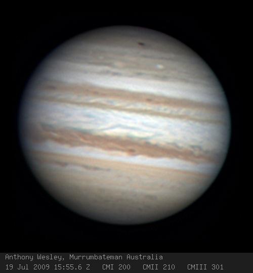 possible Jupiter impat 7 19 09
