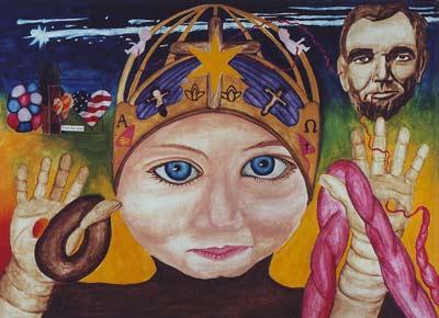 meditation1 embryo jesus art