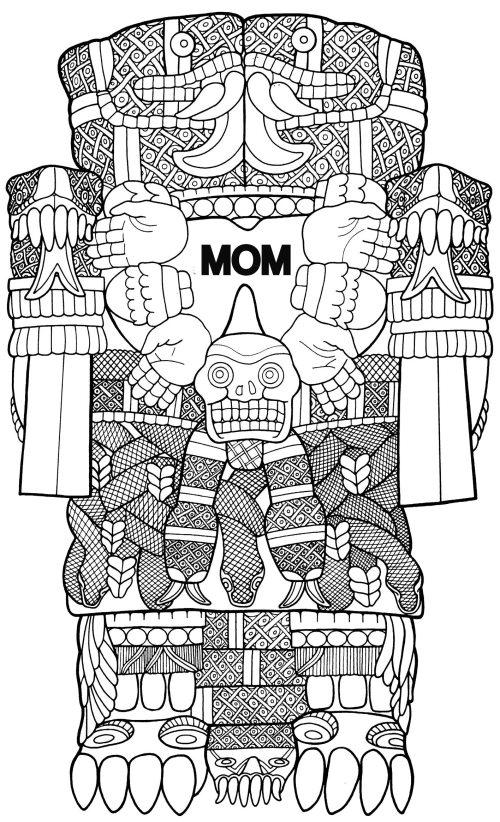 My Aztec Mom