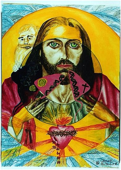 sacred heart embryo jesus