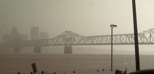 2nd st bridge in fog 2011