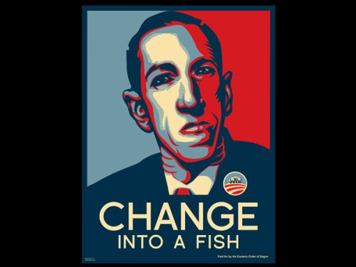 lovecraft-change-into-fish-poster-l1