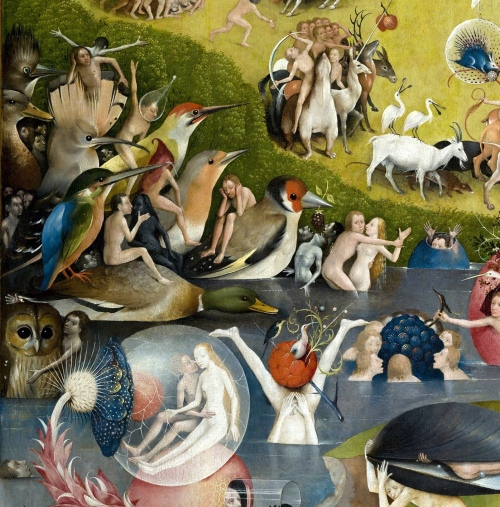Bosch Birds Earthly Delights