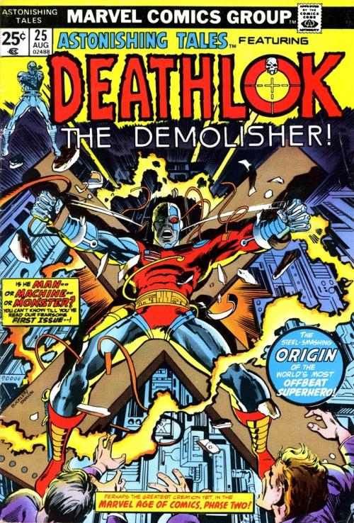 deathlok comic cover