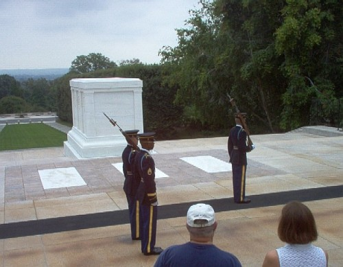 arlington honor tomb unknown