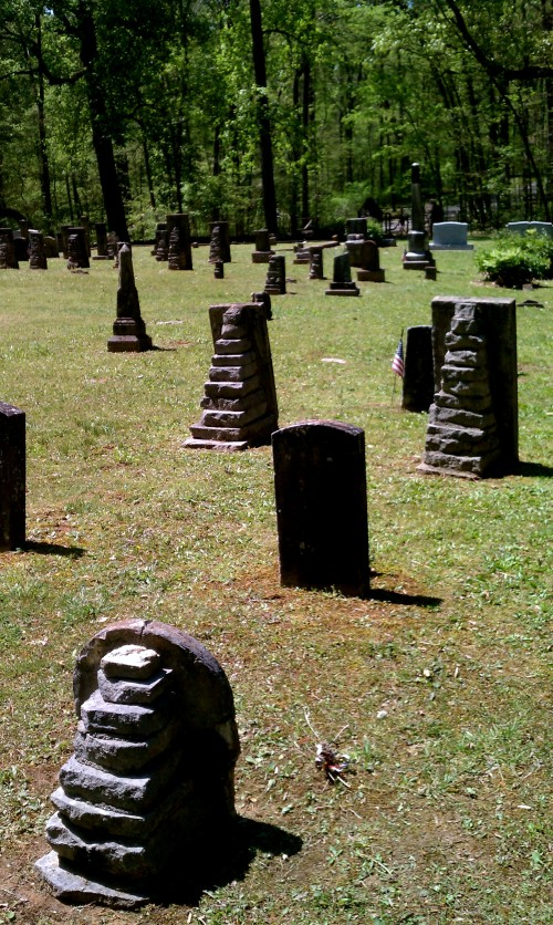 step pyramid props headstones