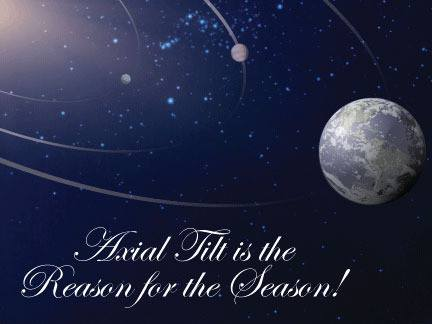 axial tilt reason season