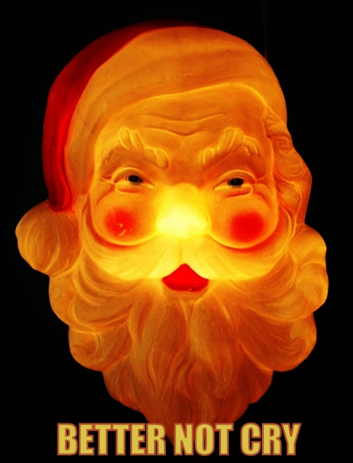 better not cry santa