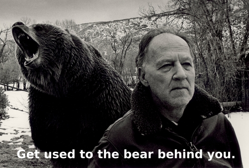 herzog get used to the bear