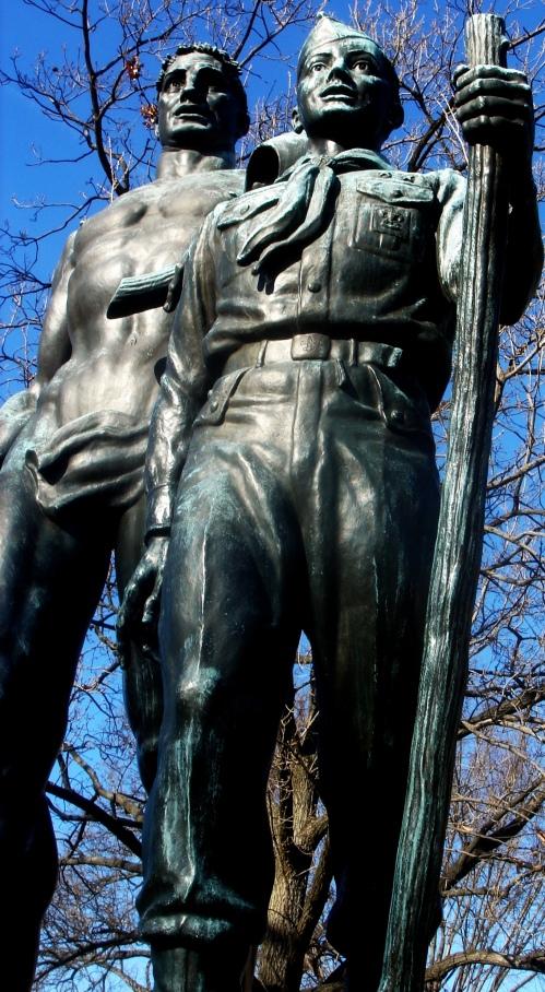 boy scout monument dc twk ort
