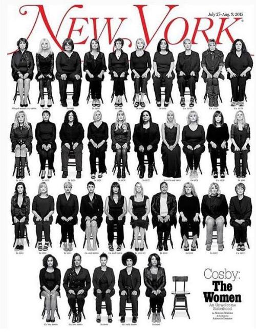 NYM cover cosby victims