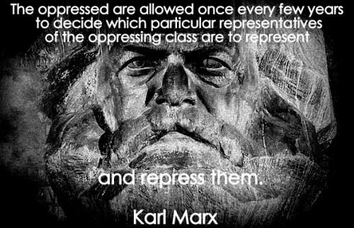 karl marx repress meme text cent gothic