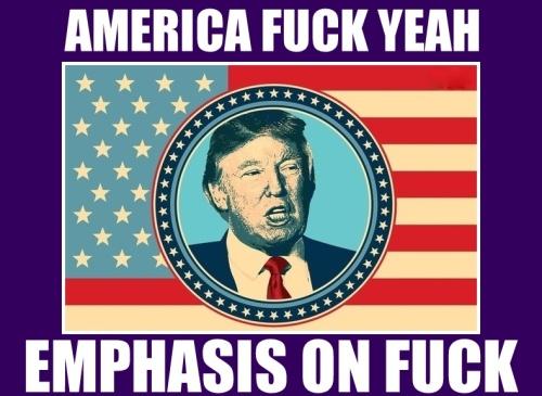 trump emphasis fuck