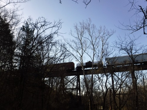 pope lick trestle train