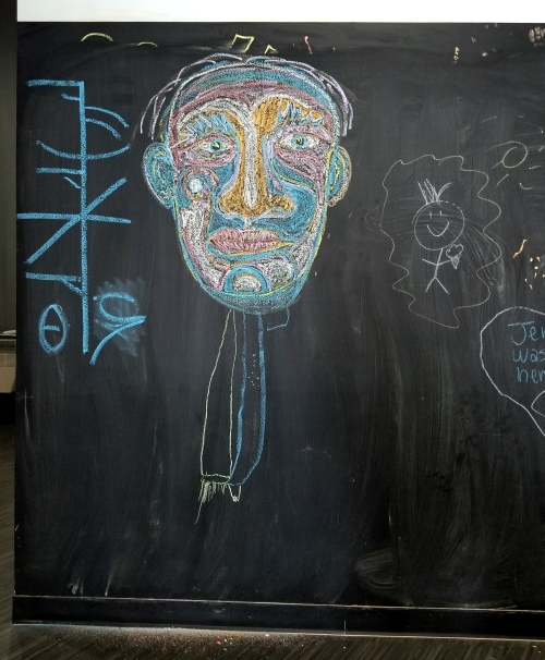chalk face ice cream shop w ollie luck