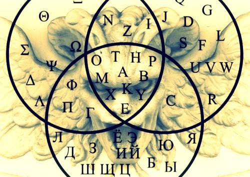harpy alphabet superimp A4 lands luck shad cross